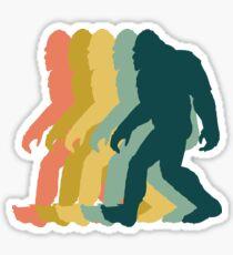 Bigfoot-Retro-Design Sticker
