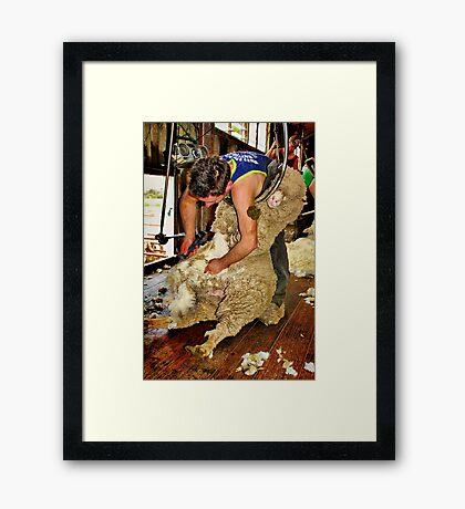 """Silence of The Lamb"" Framed Print"
