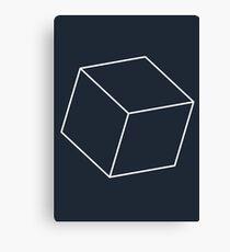 3D Cube Canvas Print