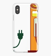 Electric gas station iPhone Case/Skin