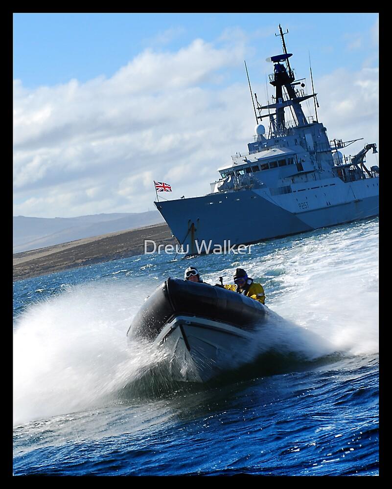 Sea Boat by Drew Walker