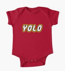 YOLO by Customize My Minifig One Piece - Short Sleeve