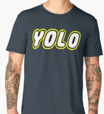 YOLO by Customize My Minifig Men's Premium T-Shirt