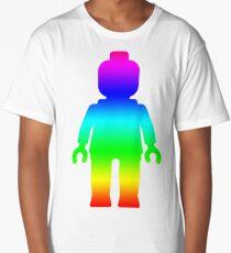 Minifig [Large Rainbow 1]  Long T-Shirt