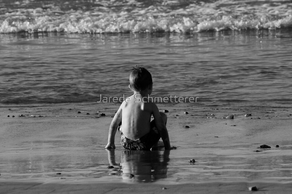 Jacob At The Sea Shore by Jarede Schmetterer