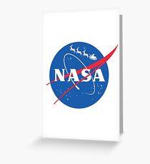NASA - Santa Sleigh logo Greeting Card