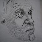 Self portrait by Richard  Tuvey