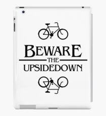 beware the upsidedown iPad Case/Skin