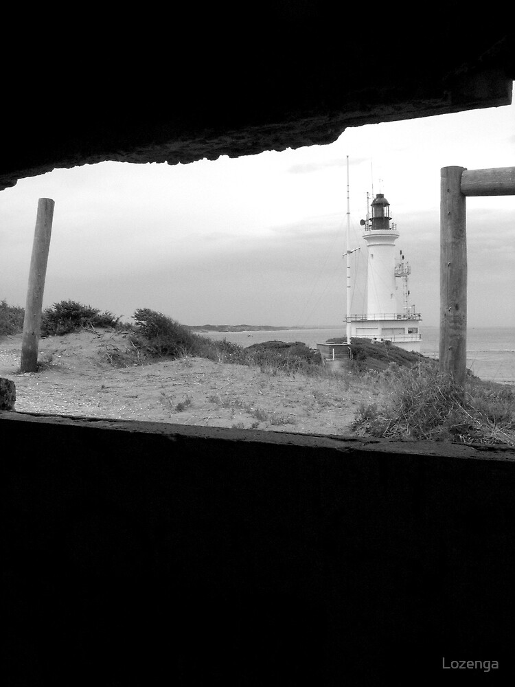 light house at Point Lonsdale by Lozenga