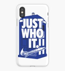 Wibbly Wobbly Timey Wimey Stuff T-Shirt iPhone Case/Skin