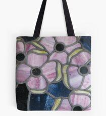 Bolsa de tela Flores en vidrio