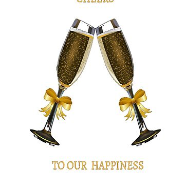 Golden Champagne Christmas  by georgewaiyaki