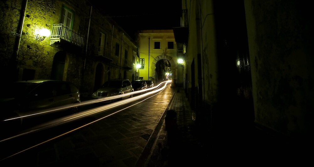 Time Travel Through The Streets Of Sant Agata by Paul Louis Villani