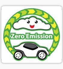 Zero Emission Vehicle Sticker