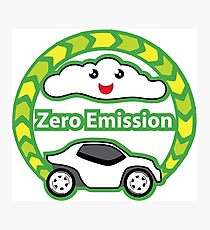 Zero Emission Vehicle Photographic Print