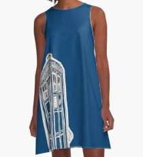 DOCTOR WHO / ANDREW BAILIE A-Line Dress