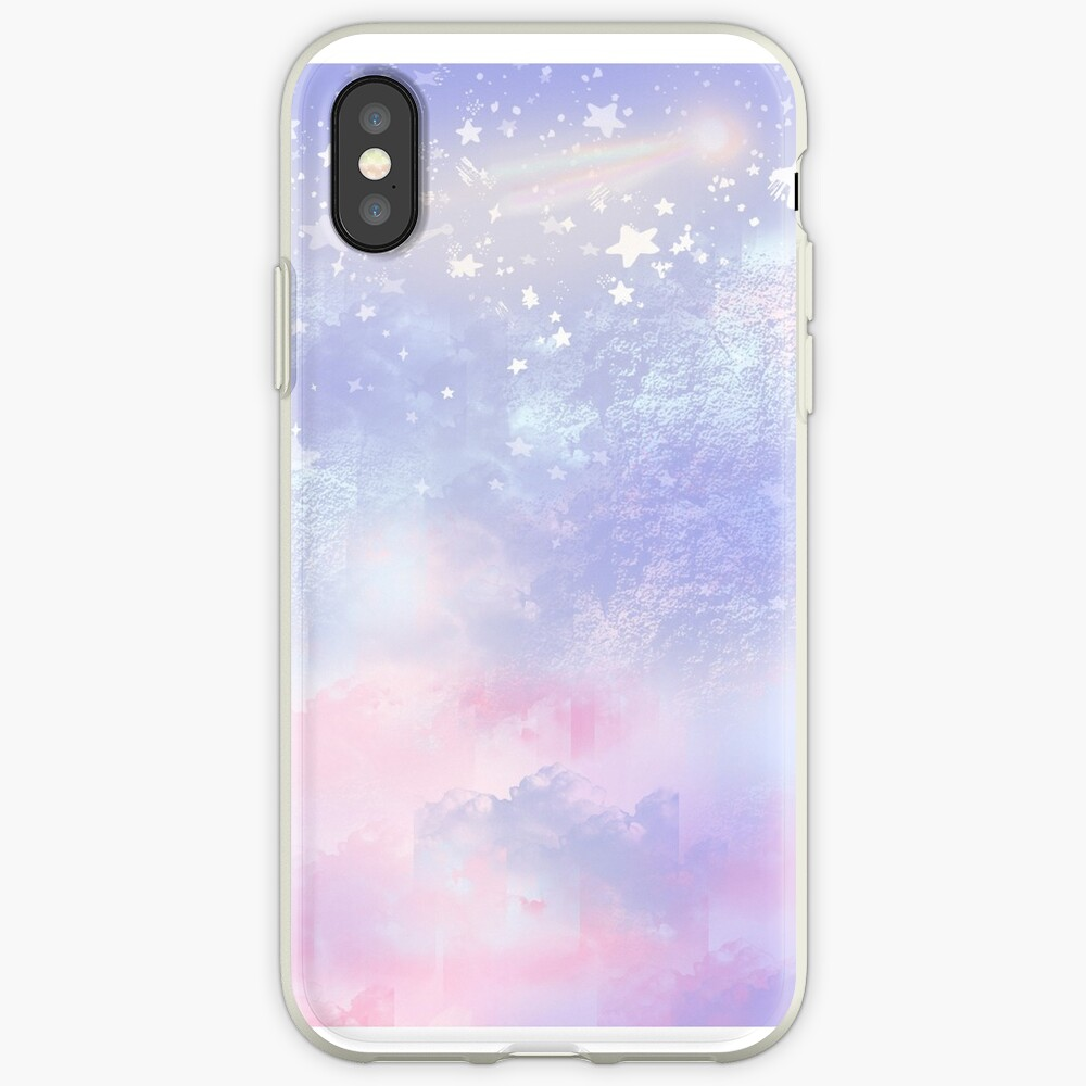 ★ Dreamy Skies ★ Pastell iPhone-Hülle & Cover