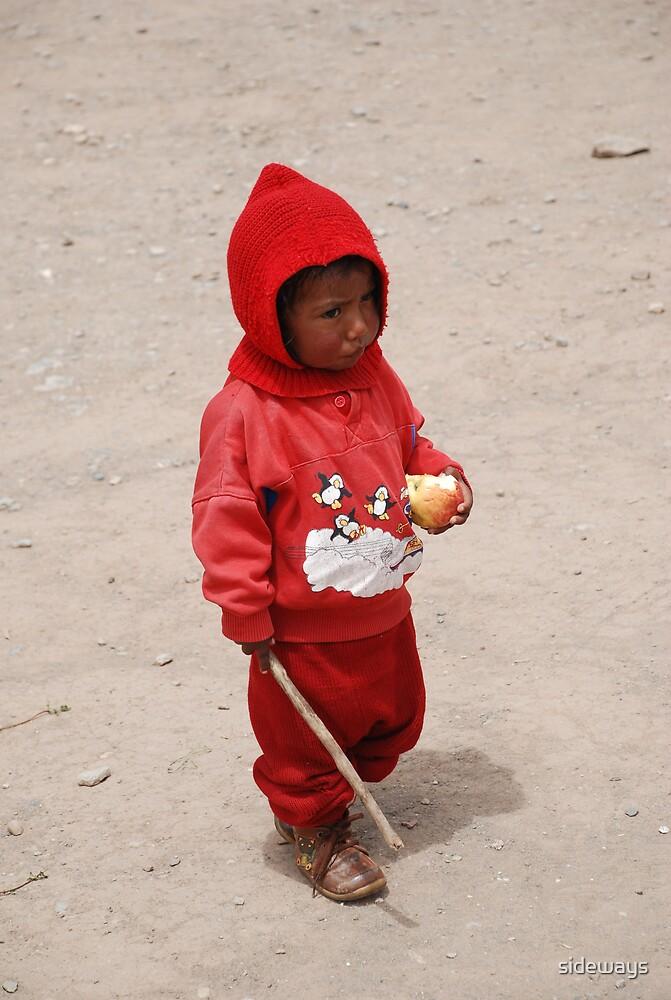 Peruvian Boy by sideways