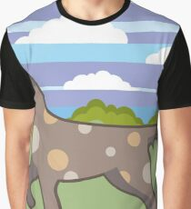 Hunting Dog Graphic T-Shirt