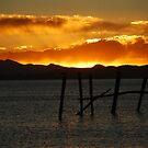 Sunset - Lake Titicaca, Bolivia by sideways