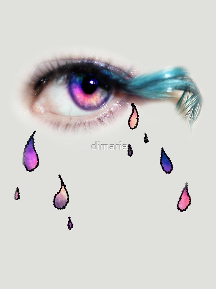 sad piscean eye by dimarie