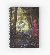 Cuaderno de espiral Dioses del bosque