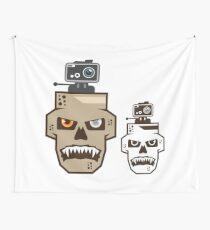Skull cam Wall Tapestry