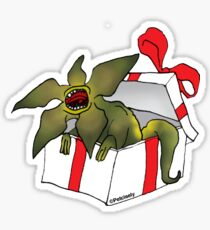 Demo Dog gift box Sticker