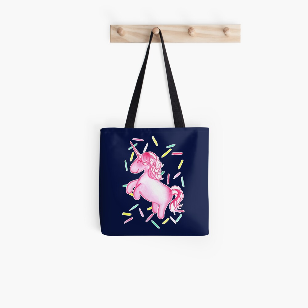 Ponicorn - Navy Tote Bag