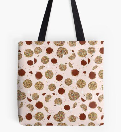 Chocolate Freckles - Orange Tote Bag