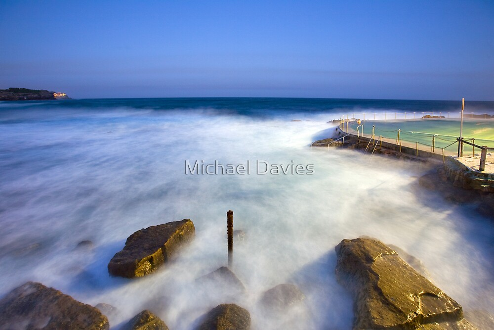 Bronte Baths by Michael Davies