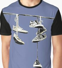 Shoe Tossing Graphic T-Shirt