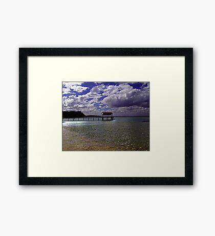 Shelly Beach,Portsea,Australia Framed Print