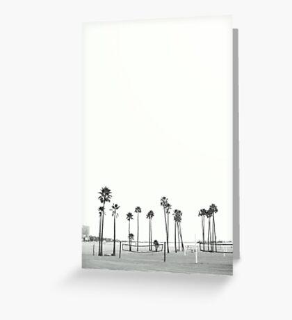 Bleached Beach Greeting Card