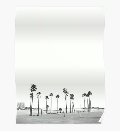 Bleached Beach Poster