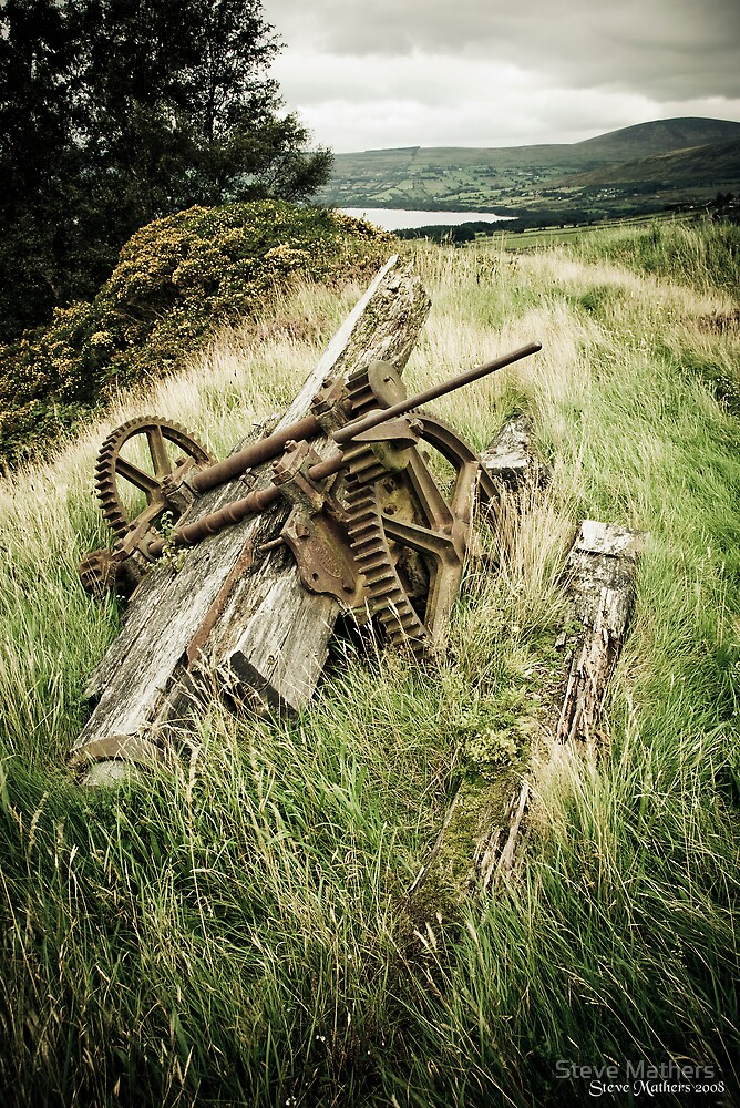 Abandoned.......at Ballyknockan by Steve Mathers