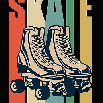Roller Derby Retro Design - Skate by kudostees