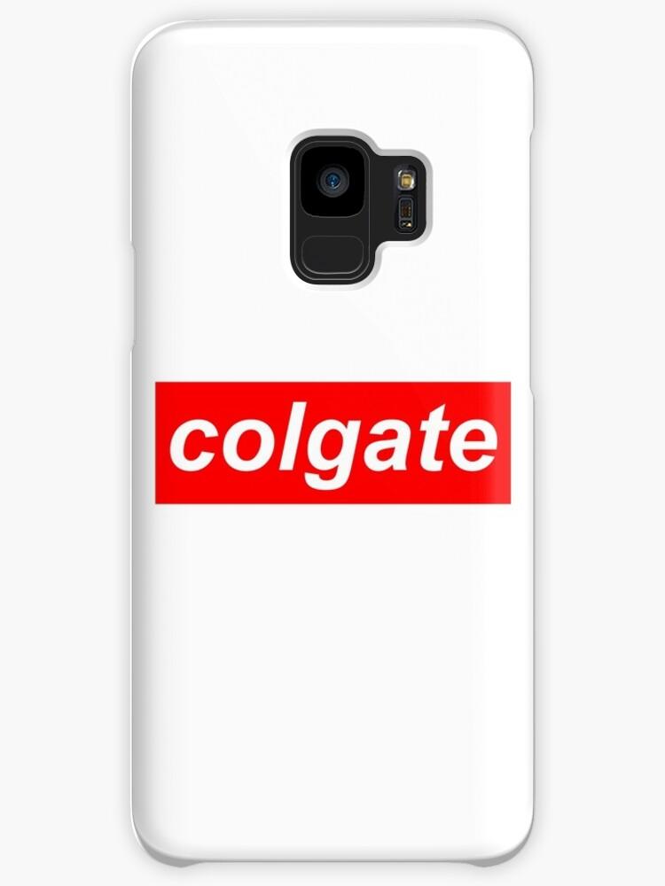 Poor mans Supreme, Colgate logo by tacticalhog