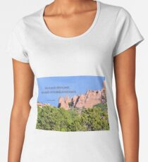 Peaceful Women's Premium T-Shirt