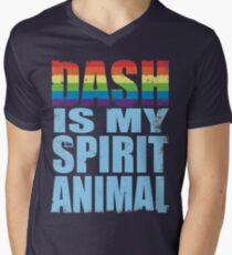 Dash is my Spirit Animal Men's V-Neck T-Shirt