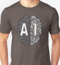 Camiseta unisex AI - Inteligencia Artificial