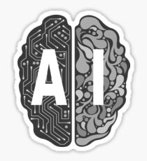 AI – Artificial Intelligence Sticker