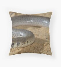 Leaden delma Throw Pillow