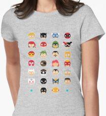 Super Alphabet! Women's Fitted T-Shirt