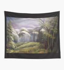 Paysage de montagne Wall Tapestry