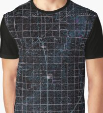 USGS TOPO Map Illinois IL Sibley 309967 1947 62500 Inverted Graphic T-Shirt