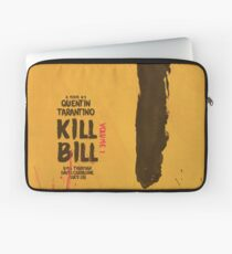 Kill Bill, Quentin Tarantino, movie poster, alternative, minimal version Laptop Sleeve