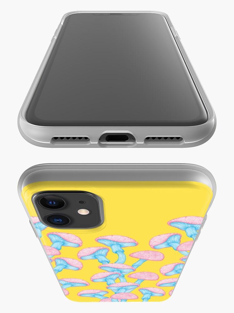 Alternate view of The Garden of Wonderland Mushroom iPhone Case & Cover