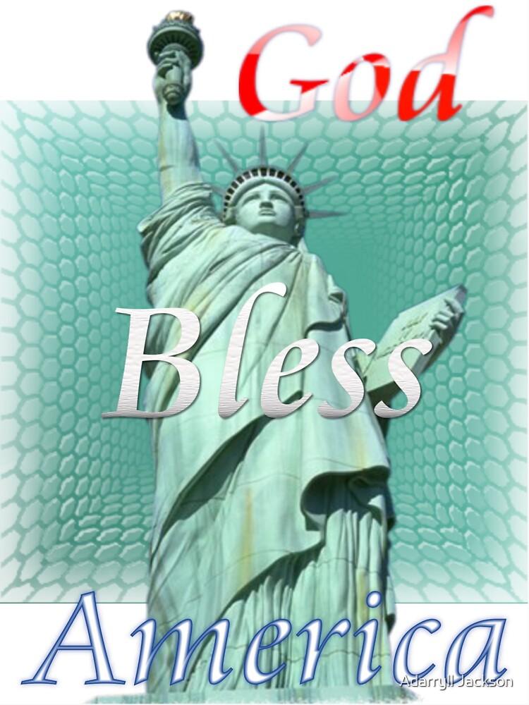 Bless America by visualyzethis