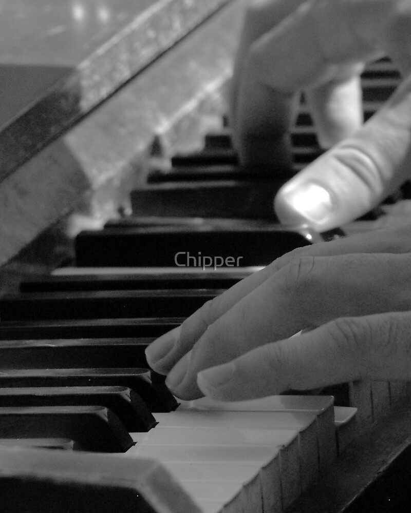 Street Piano by Chipper